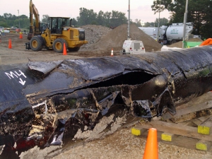 Section of pipe from Kalamazoo spill c National Transportation Safety Board-thumb-500x375-7203-thumb-500x375-7204